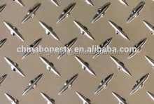 Average Thickness 1100 1070 JIS standard quality aluminum checkered / tread sheet /plate with High-weather resistance