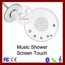 led de música bluetooth cabeza de la ducha para la reproducción de música y llamadas de teléfono de recibir la cabeza de ducha
