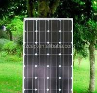 smal monol solar panel 80w 100w 120w 130w 140w 150w