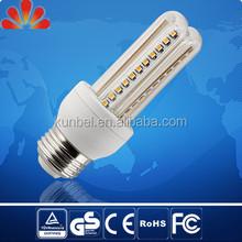 360 beam angle LED bulb U shaped ,,3W 4W LED U shape light, Glass cover plastic housing U bulb with TUV GS