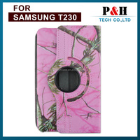 """360 Degree rotating Leather Case for samsung Galaxy Tab 4 T230 T330 T530 7.0"""" hot sale on the Russia market"""