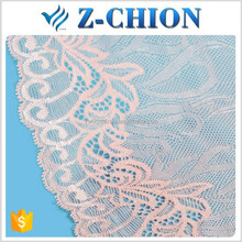 Best quality Fujian factory nylon stretched ladies lingerie/bra/underwear lace trimmings
