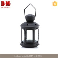 Stock Garden Decoration Antique Metal Candle Lantern