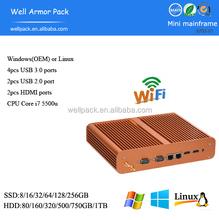 Trade Assurance WAP Intel HD Graphics 5500 21*17.5*4.5CM Mini computer