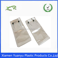 Very good transparent plastic bags for cookies/wicketed bread bags.