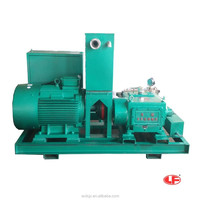 Green cleaning Ultra High Pressure Water Jetting 380v motor or diesel powered machines for clean dirt degreasing