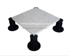 Exterior de carga pesada capacidad plástica raised floor soporte de ATFLOR