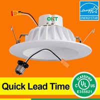 OKT ul 14w downlight 6inch retrofit kit 6 inch recessed led retrofit for USA market