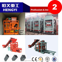 best price QT4-22 concrete interlocking paving block machine