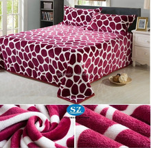 100% Polyester New Design printed Flannel Blanket 2015 hot selling