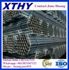 ASTM A106 Grade B steel pipe/hot dipped galvanzied steel pipe/black paint steel pipe china building metrial manufacturer