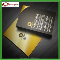 Gold or Silver Foil stamping Business Cards Paper and Finishing Options