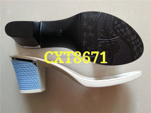 Hot sale pu outsole high-heeled ladies outsoles