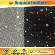 Factory directly whoalesale good design sequin fabric glitter for shoes women for indian market T5796