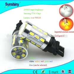 22w 1157 socket led auto car brake light lamp bulb