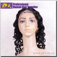 Guangzhou DK Hair High quality brazilian hair wig fanny wig