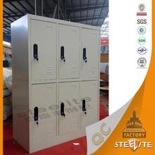 Good price fashion Staff clothing lockers Metal Wardrobe Locker