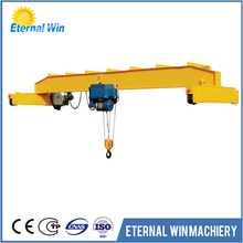 Electric hoist single girder bridge crane 5 ton hoist overhead crane