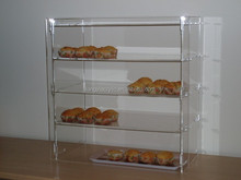 Wholesale 4 tier clear acrylic cake display shelf