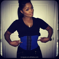 latex steel boned cincher custom made plus size corsets