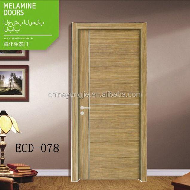 Melamina de la puerta en la habitaci n puertas de madera for Puertas de diseno para interior