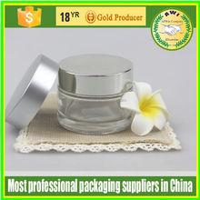 1OZ 5oz eye cream glass jar, frosted cream jars cosmetics 5g 10g 20g 30g