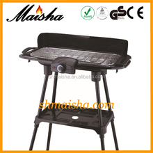MS 2000w electric professional barbeque grill BBQ-02A
