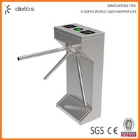 Trustworthy China Supplier stainless steel main gate tripod turnstile