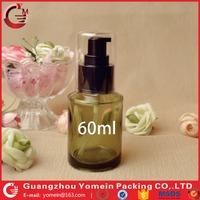 Hot high-grade spray bottle as an olive oil glass bottle for olive essence shampoo