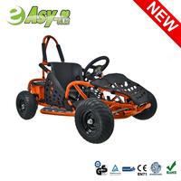 2015 Easy-go 1000w 48v/12ah electric 2 seater go kart with CE certificate hot on sale