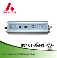 IP67 waterproof electronic 80W 24V LED Driver for lighting led