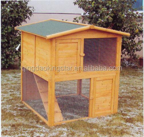 pas cher en bois lapin maison clapier lapin cage cage. Black Bedroom Furniture Sets. Home Design Ideas