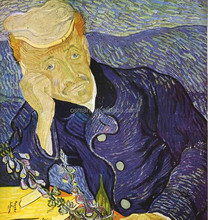 Chinese Oil Painting Reproductions, Van Gogh Self Portrait Wall Art