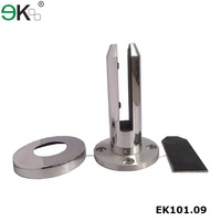glass balustrade crystal,12mm thick toughened glass pool fencing spigot