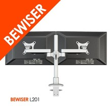 2015 New High Quality Dual LCD Monitor Desktop Holder (BEWISER L201)