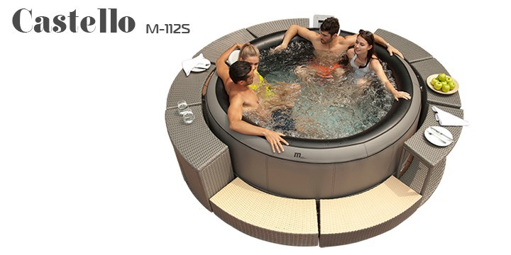 mspa inflatable portable spa bubble spa inflatable. Black Bedroom Furniture Sets. Home Design Ideas