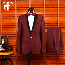 Top Selling Custom Made Notch Lapel Men's Suit Dinner Suit Formal Wedding Suits For Men /Ball Gowns