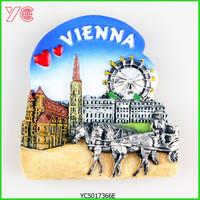 YC5017366E Austria Vienna Tourist Souvenir 3D Fridge Magnet