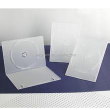 PP 7mm single clear DVD case/7mm dvd box