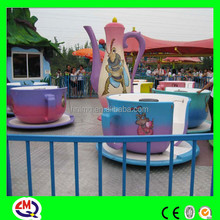 2015 most attractive family ride outdoor coffee cup game for playground