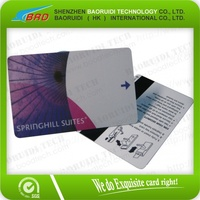 wholesale credit card size printed smart magnetic strip cards
