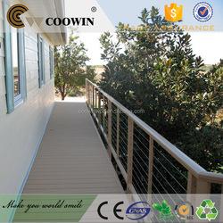 Exterior hollow terrace wpc decking floor coowin
