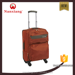 competitive price Nylon 1680D carry-on type easy travel trolley luggage