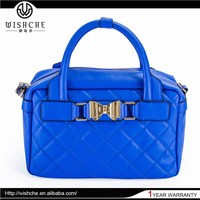 Wishche Wholesale Alibaba Superior High Quality Nice Design Woman Hand Bag Designer Genuine Leather Handbags Ladies 2015 W062