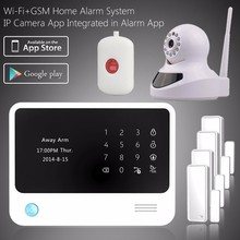 Personal Usage Wireless GSM/WIFI Alarm System G90B , wifi home alarm system support IP camera