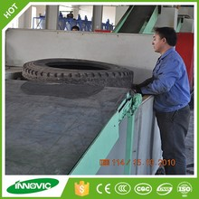Tyre Recycling Equipment/Used Tire Cutting Machine in Russia