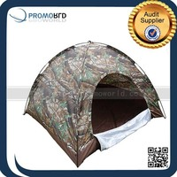 Large 4 Person Camping Family Sealed Bottom Camouflage Hunting Tent