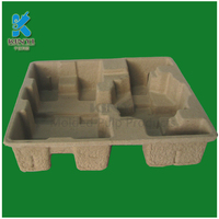 Recyclable and Biodegradable Molded Paper Pulp Packaging Trays