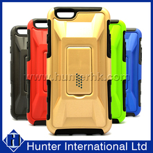 Hard Back Kickstand Stand Hybrid Combo Case For iPhone 6