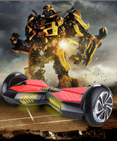 Free shipping Exmight brand 8 inch big wheel self balancing scooter with bule tooth, flash lights an remote key for kids games